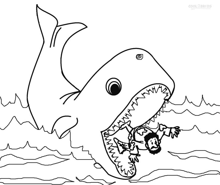 Whale Eating A Man