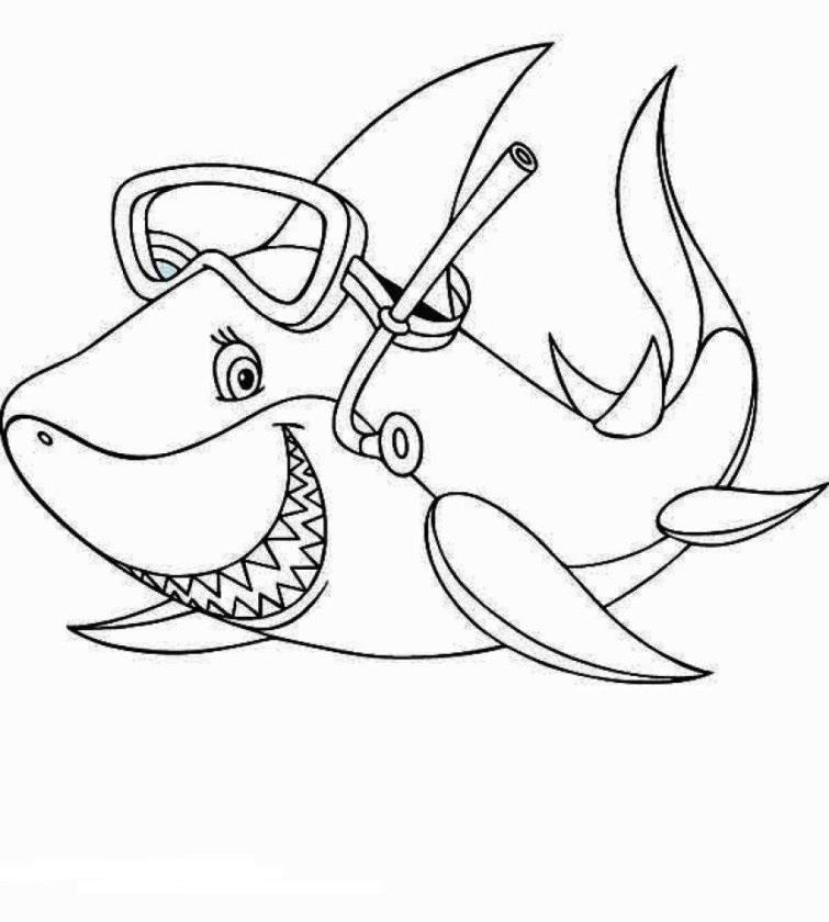 Shark Goes Diving