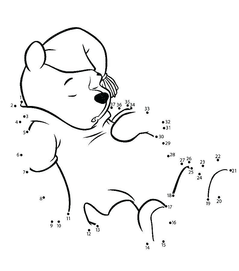 Pooh Dot To Dots