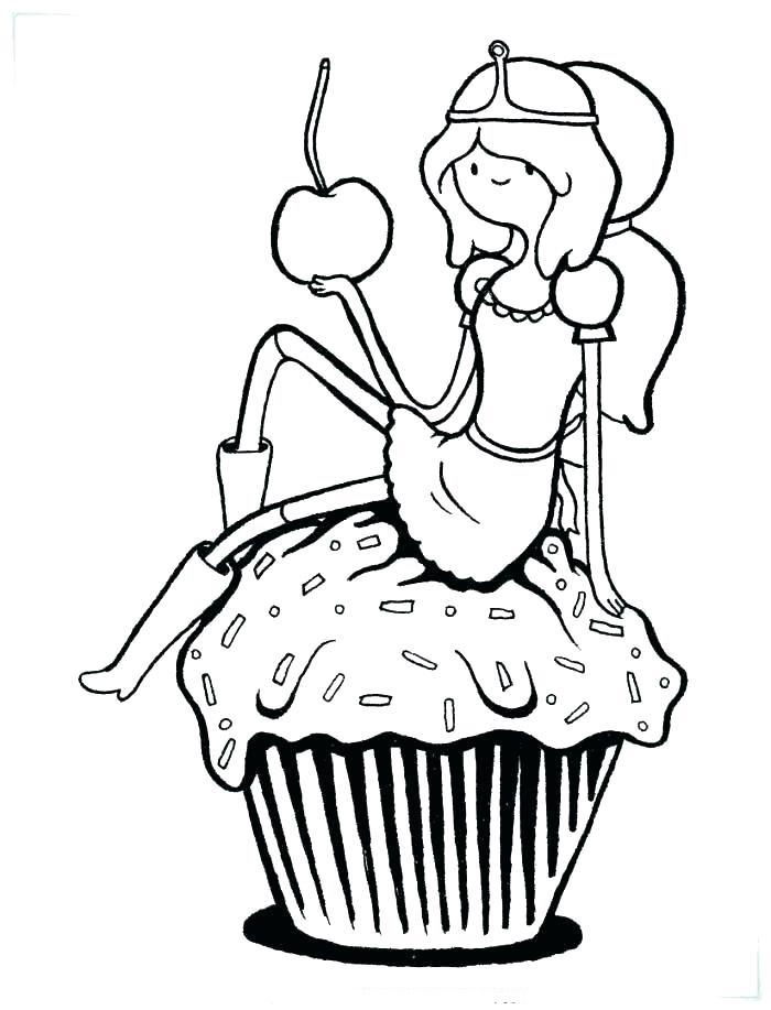 Princess Bubblegum And Big Cupcake