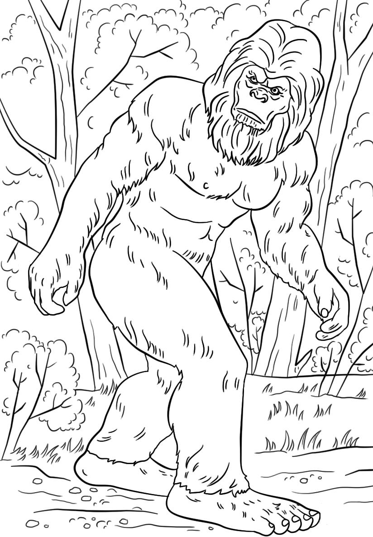 Lengend Monster Bigfoot