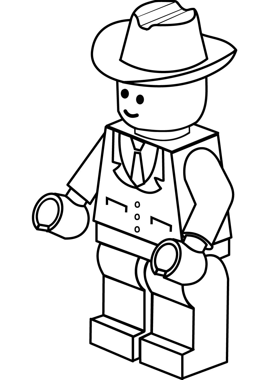 Lego Cowboy