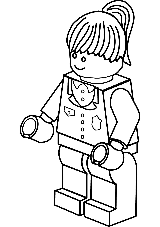 Lego Police Woman