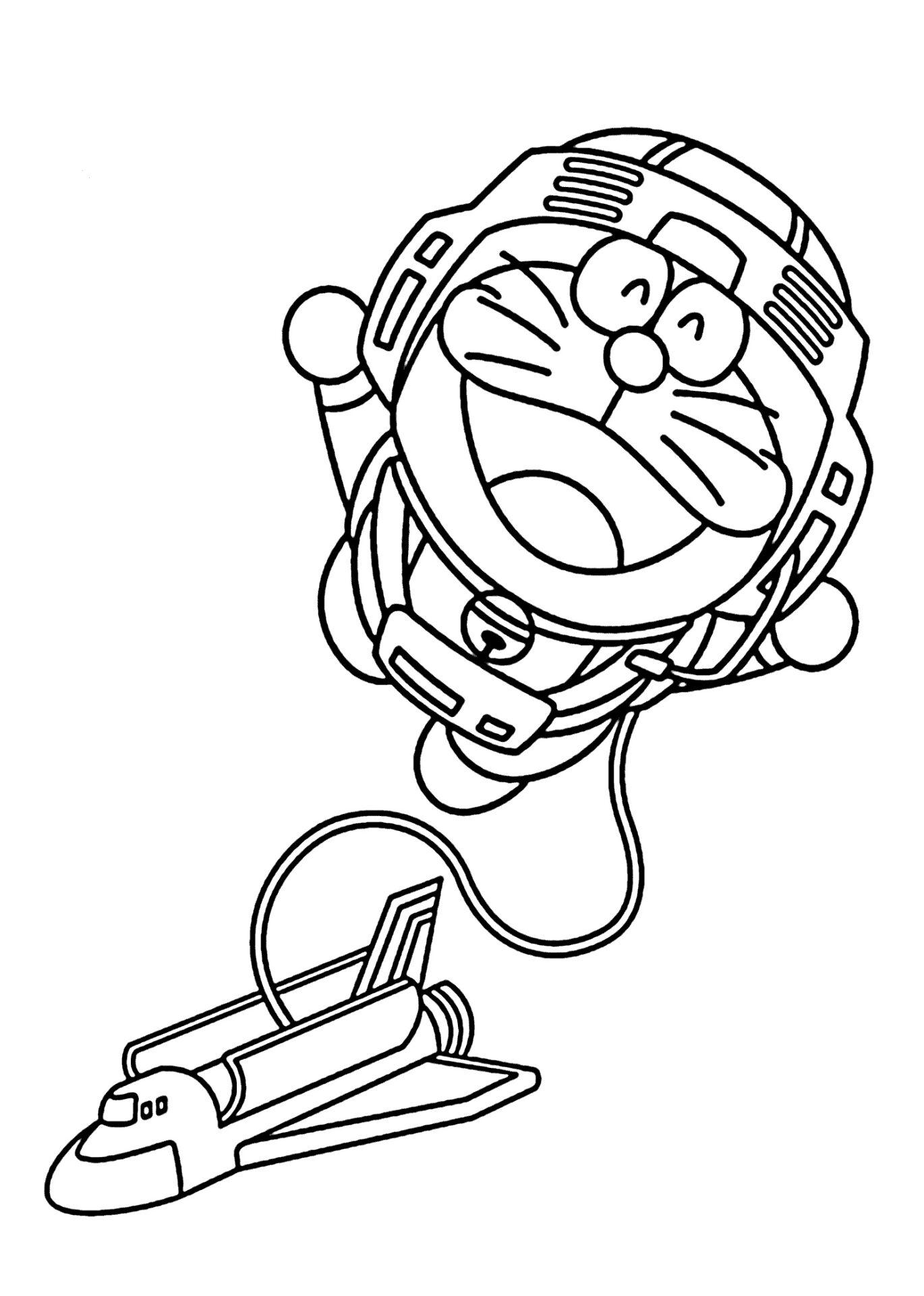 Doraemon And Spaceship
