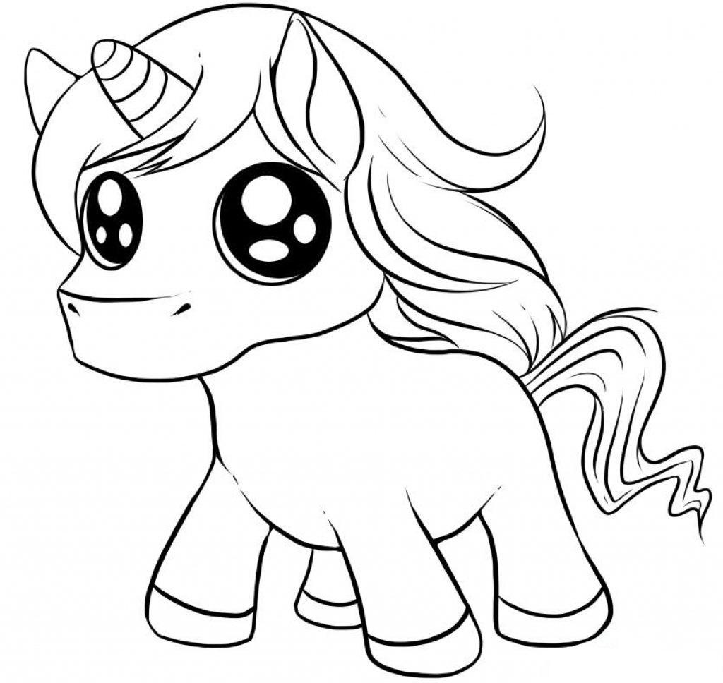 Baby Cute Gillter Eyes Unicorn