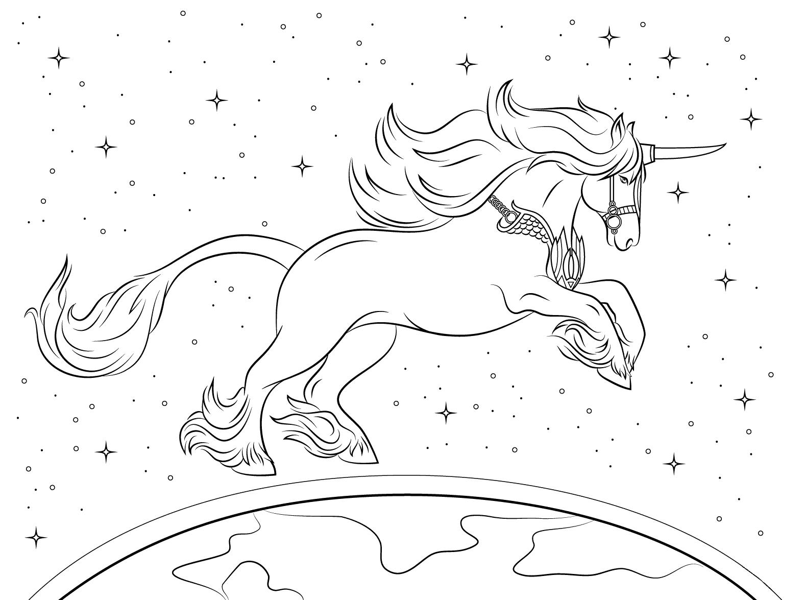 Beautiful Unicorn Shining