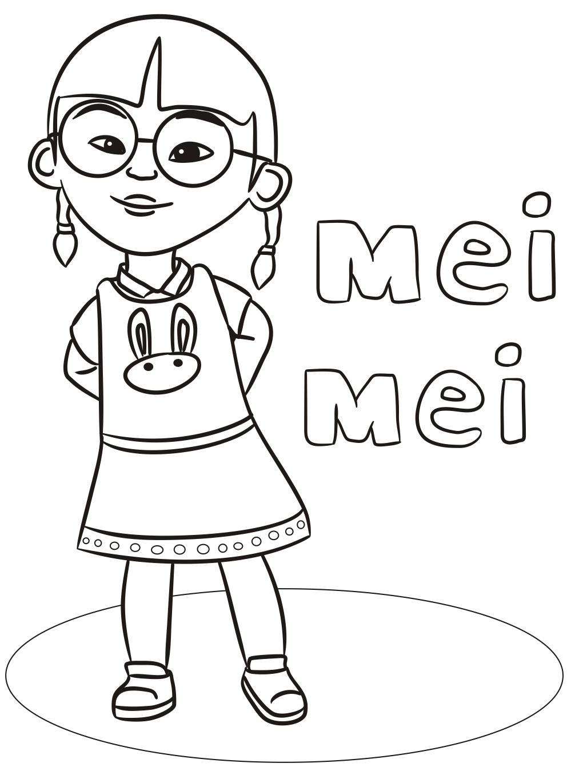 Cute Mei Mei