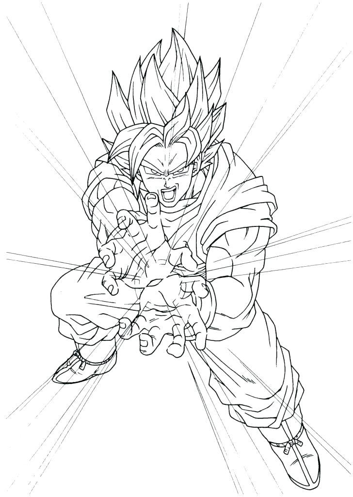 Goku With Kame Hame Ha