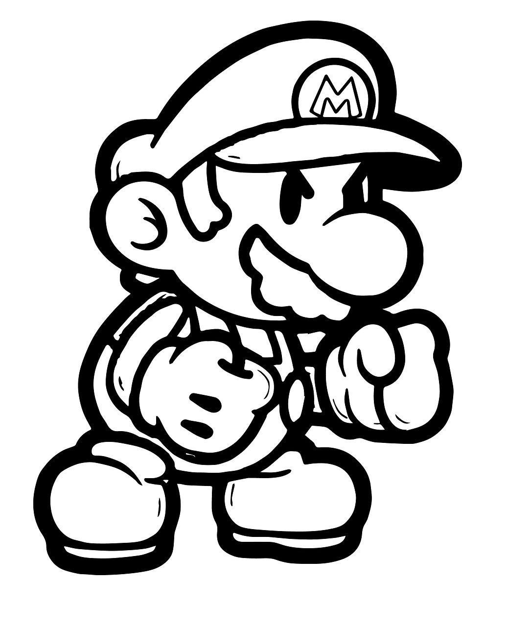 Mario Kick Boxing