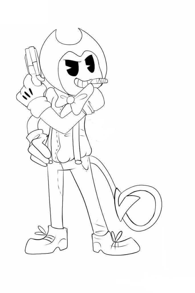 Bendy With A Gun