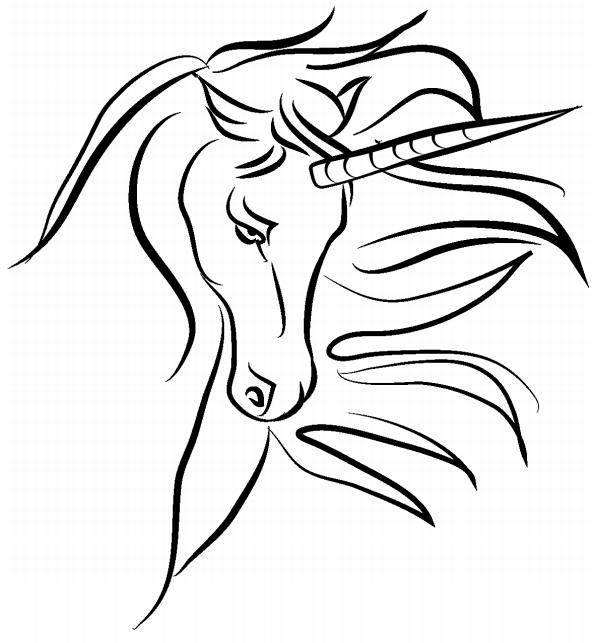Unicorn's Face