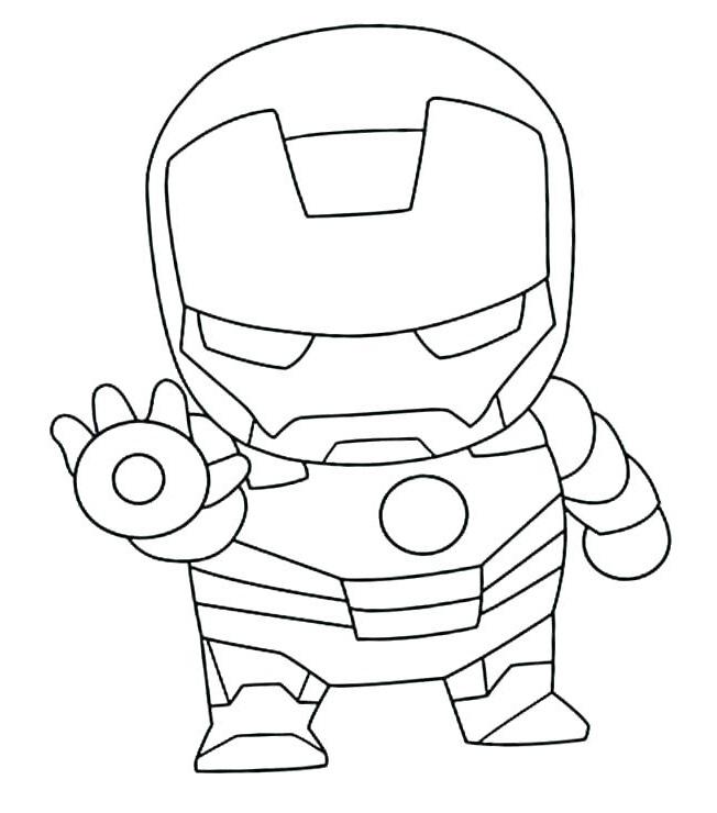 Cute Chibi Iron Man