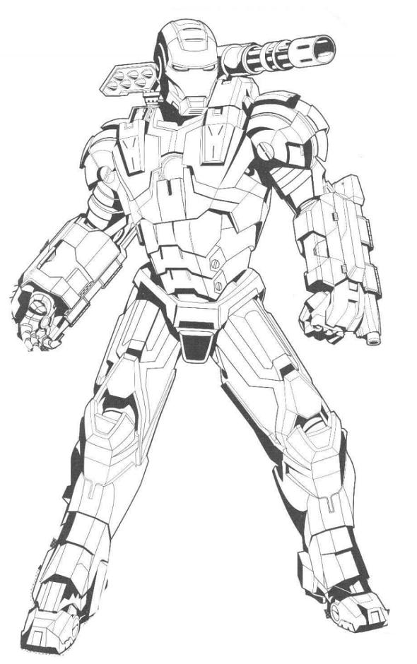 Iron Man With Gun