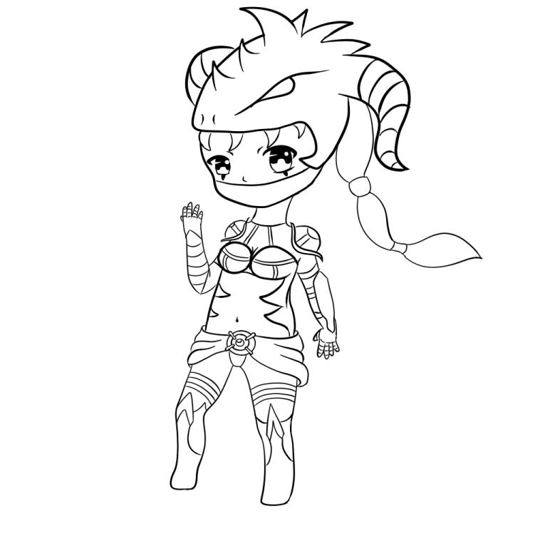 Dragonslayer Vayne Chibi