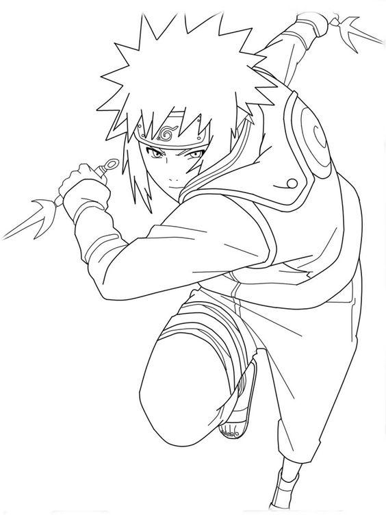 Minato Is Fighting