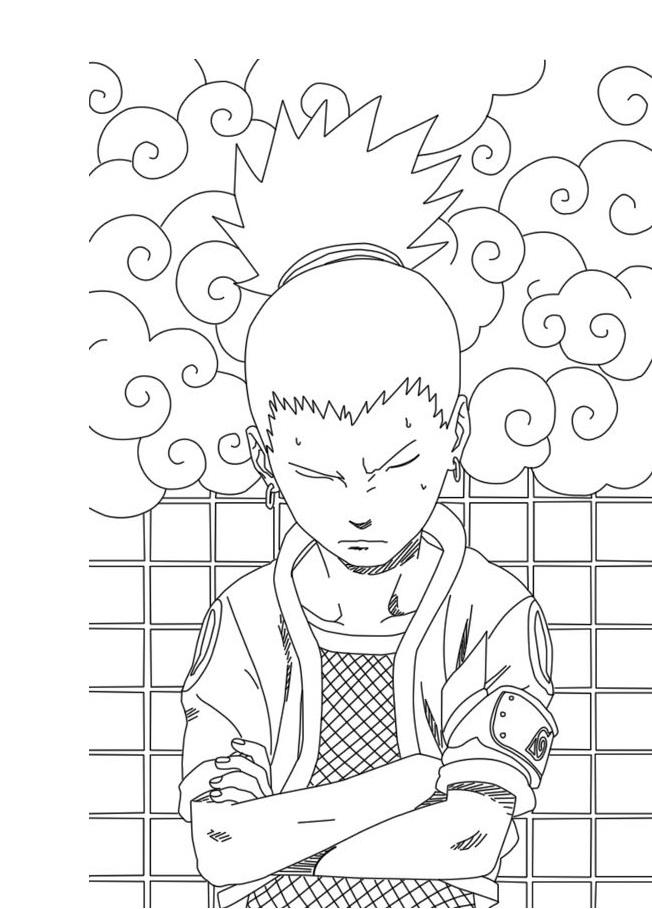 Angry Shikamaru