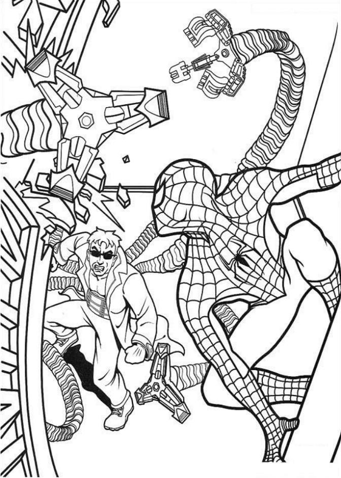 Dr. Octopus Vs Spider Man