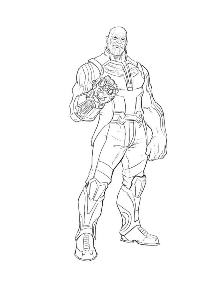 Strongest Villain Thanos