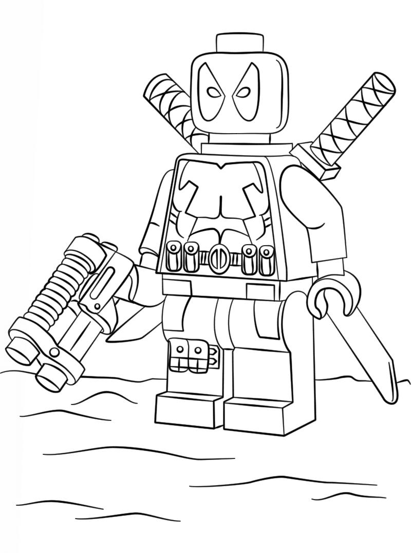 Lego Marvel Deadpool