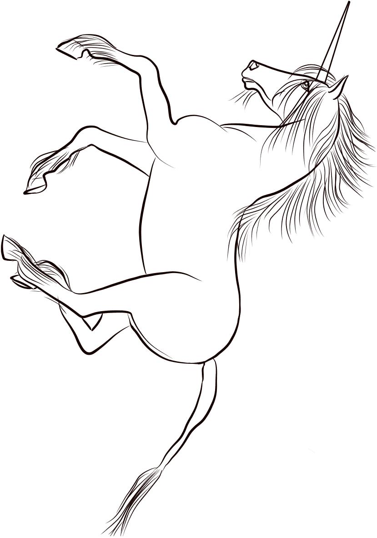 Unicorn Running