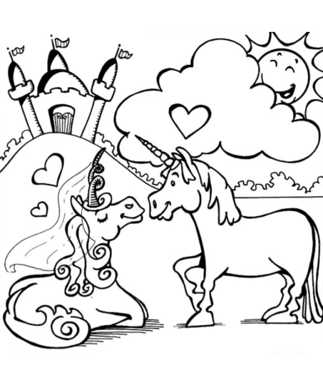 Couple Unicorn