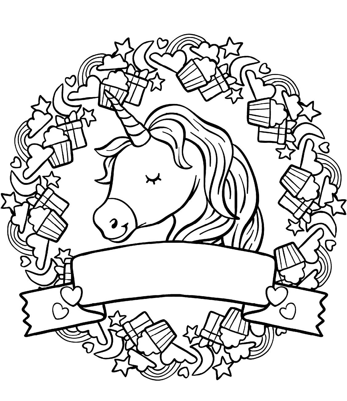 Happy Face Unicorn