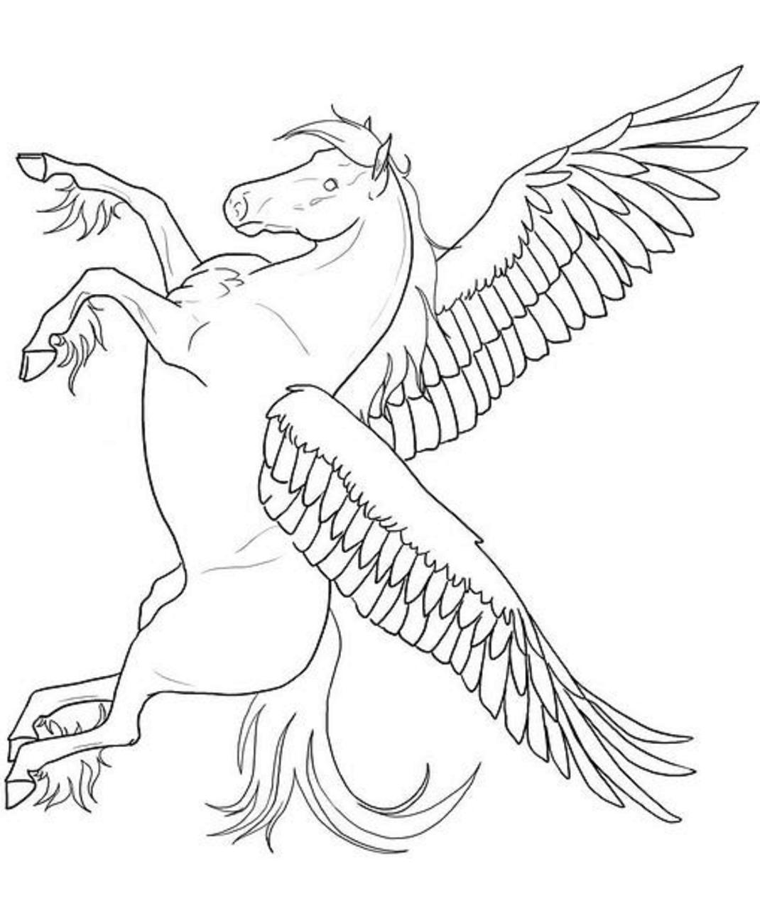 Bright Pegasi Unicorn