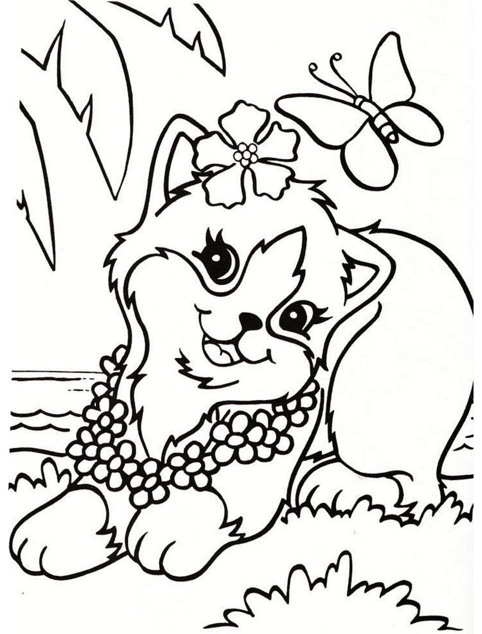 Pretty Cat Lisa Frank