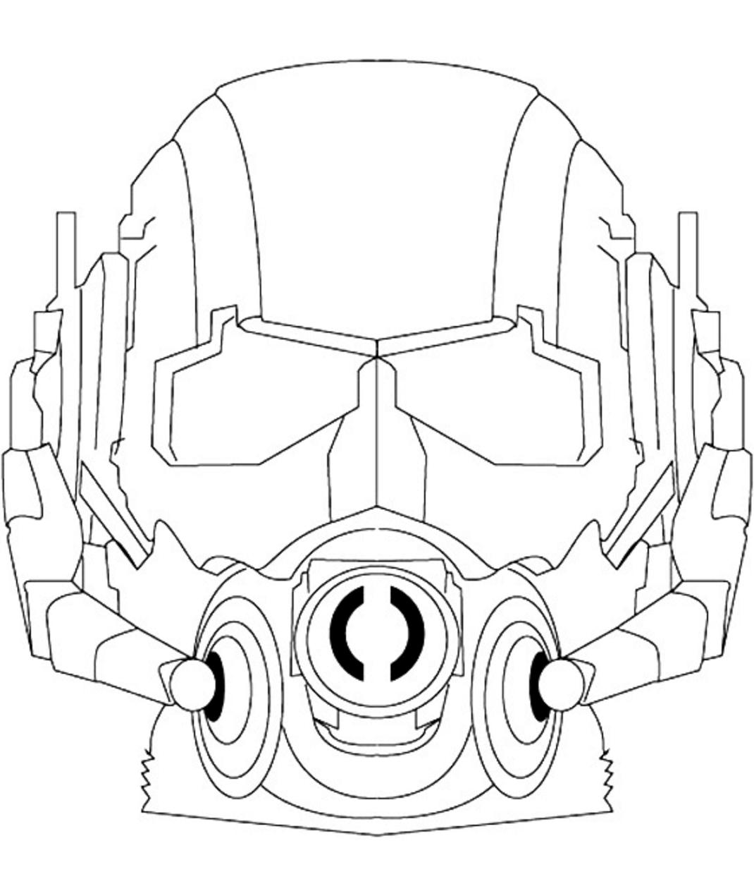 Ant Man Mask