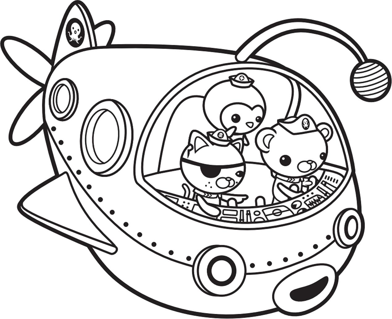 Octonauts Submarine