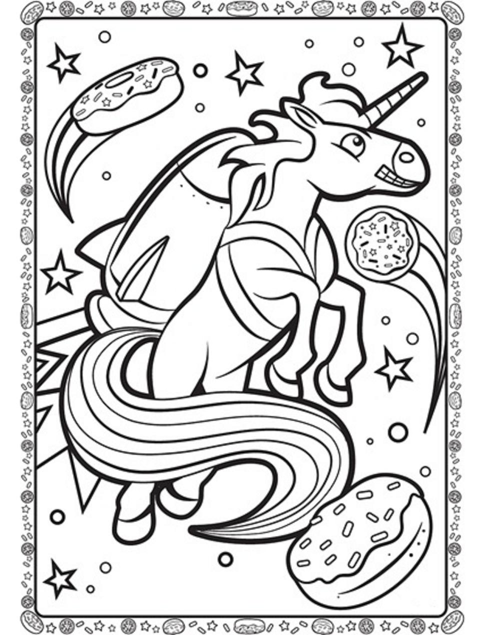 Unicorn With Rocket