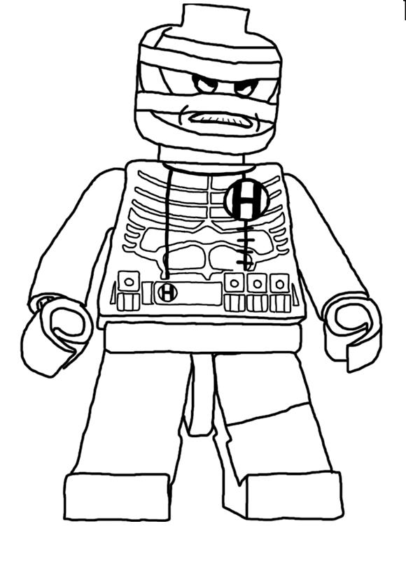 Lego Hush In Batman Hush