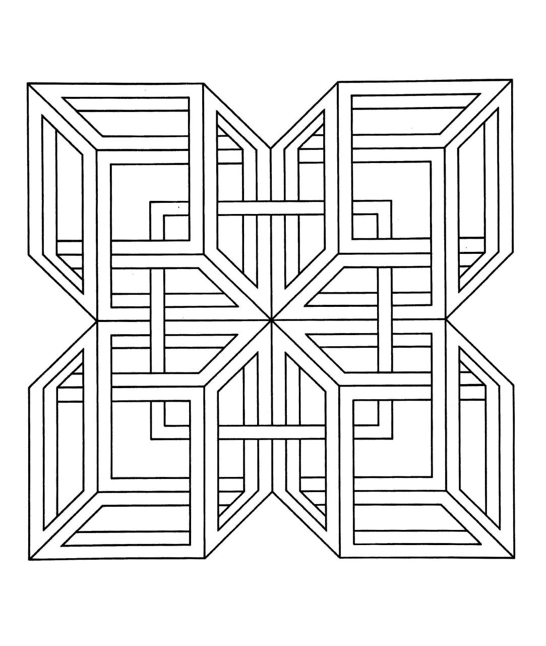 Complex Squares Geometric