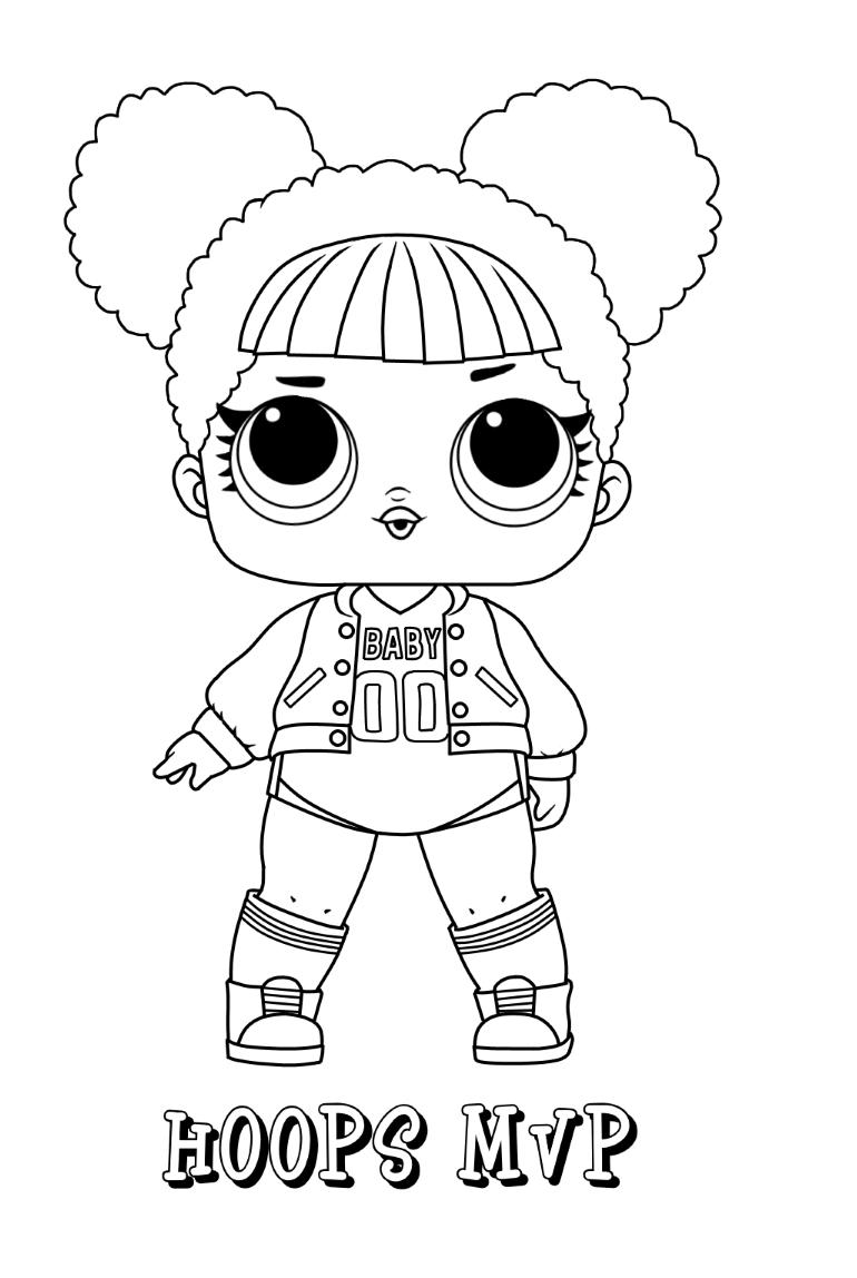 Hoops Mvp Lol Doll