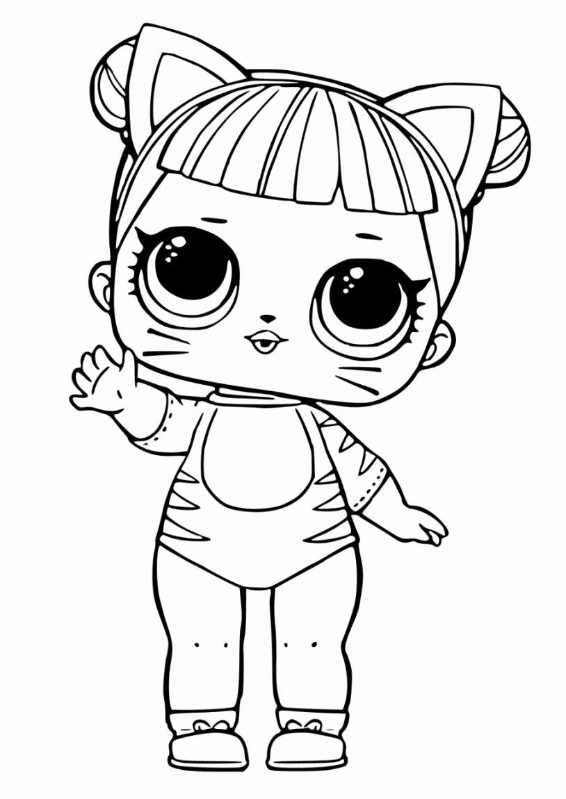 Baby Cat Lol Doll