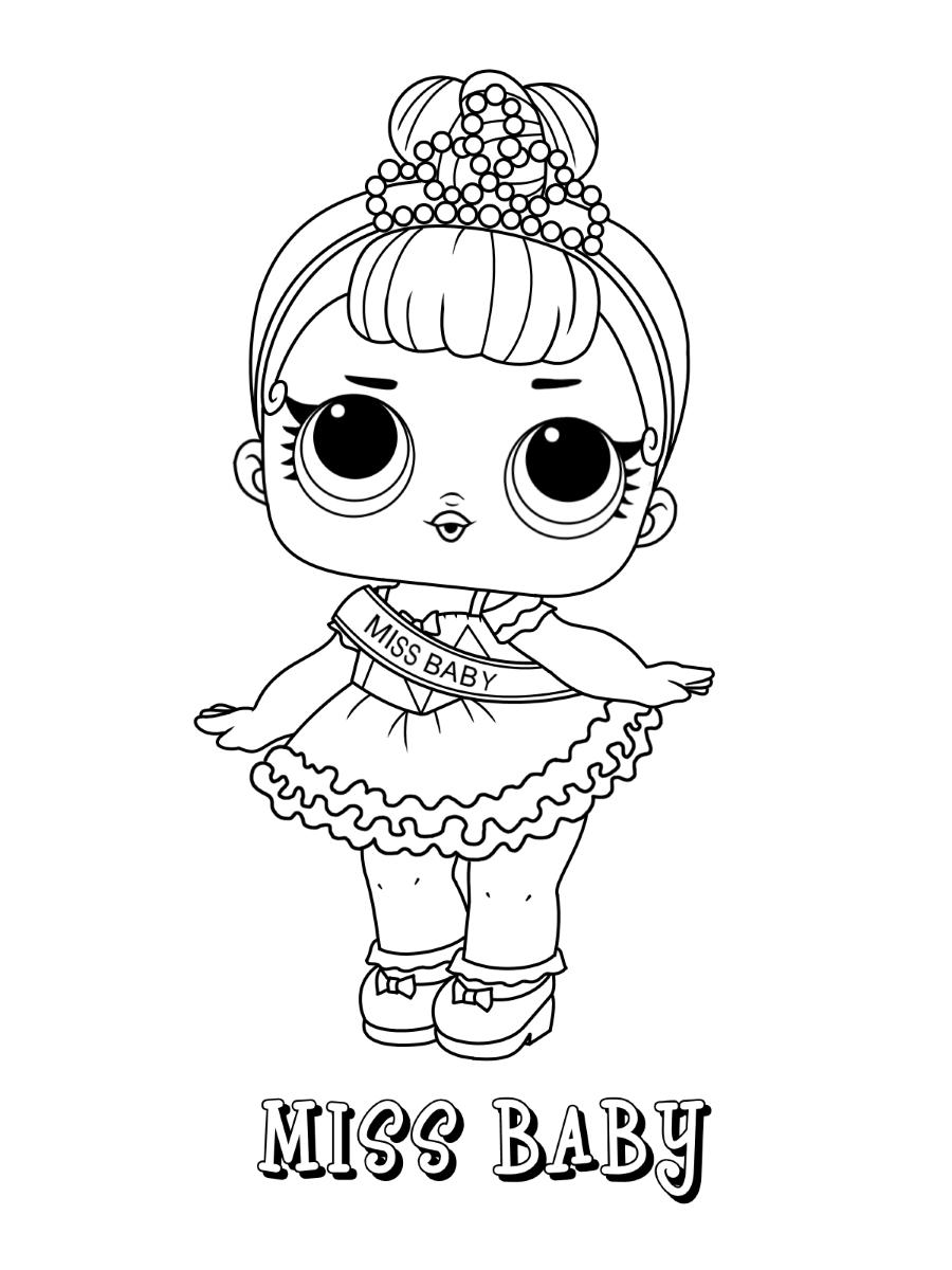 Miss Baby Lol Doll