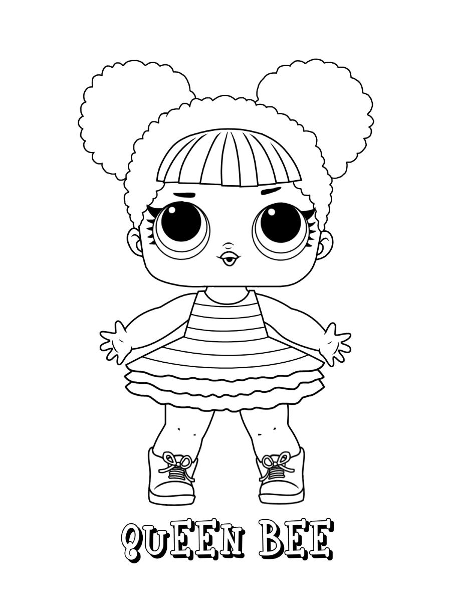 Queen Bee Lol Doll