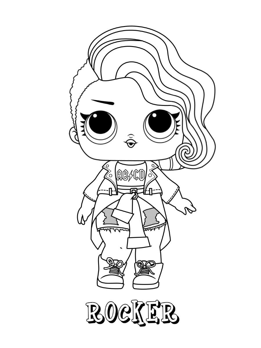 Rocker Lol Doll