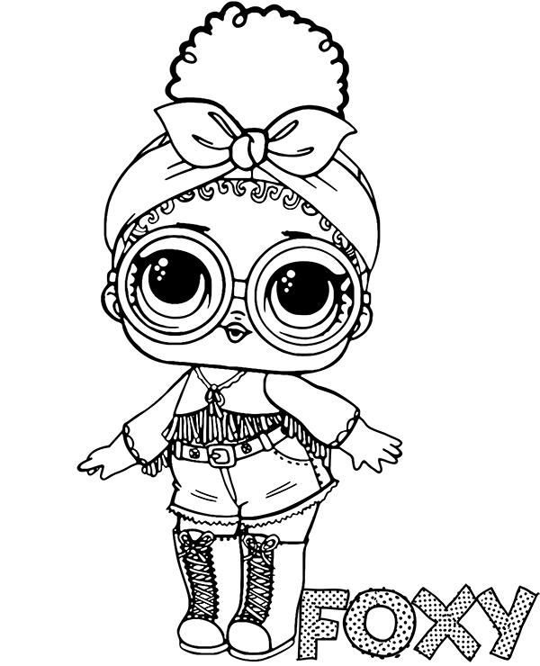 Foxy Lol Doll