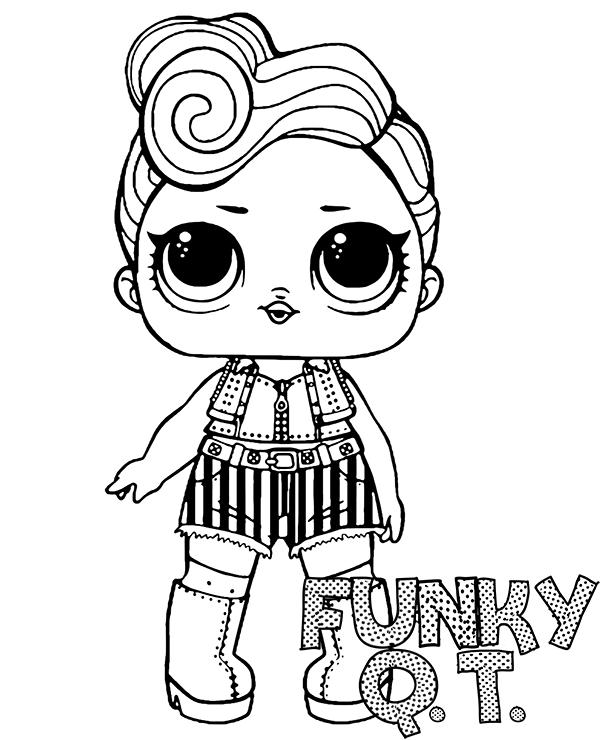 Funky QT Lol Doll