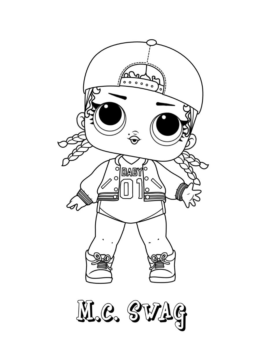 MC Swag Lol Doll