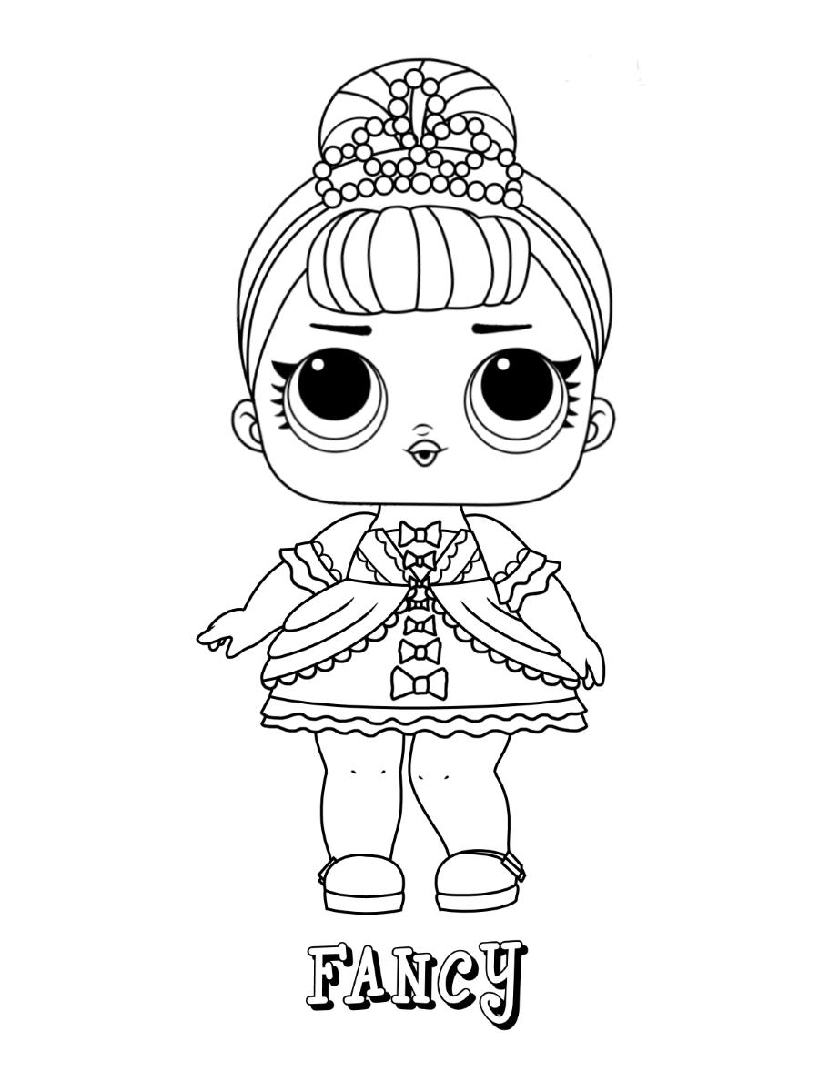 Fancy Lol Doll