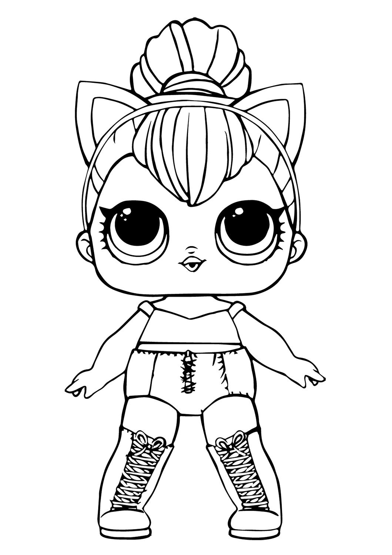 Kitty Queen Lol Doll