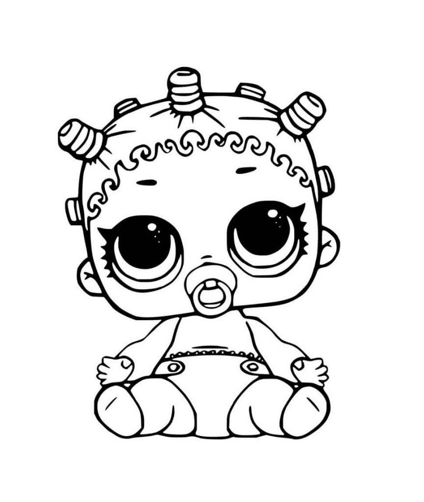 Lil Roller Sk8ter Lol Doll