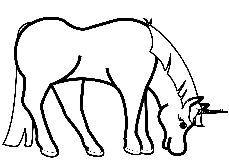 Grazing Unicorn