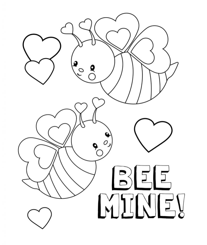 Valentine's Day Bees
