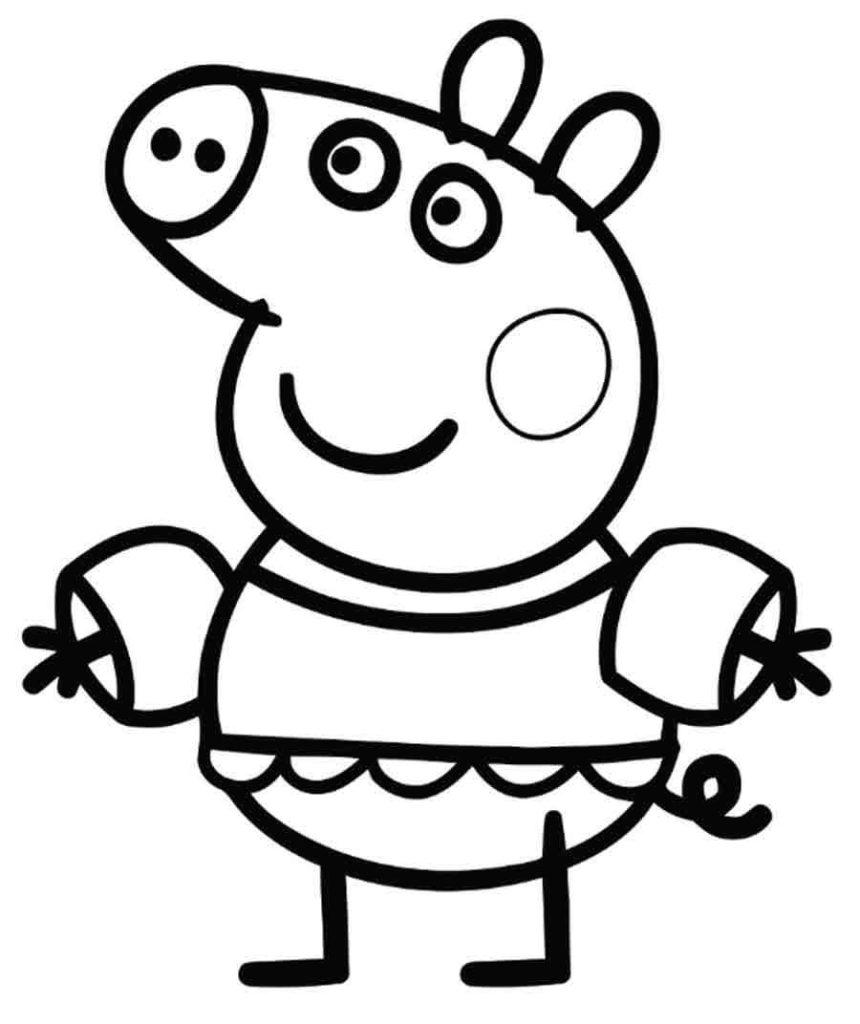 Peppa Pig Go Swimming