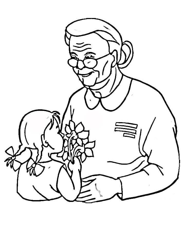 Veterans Day for Grandma