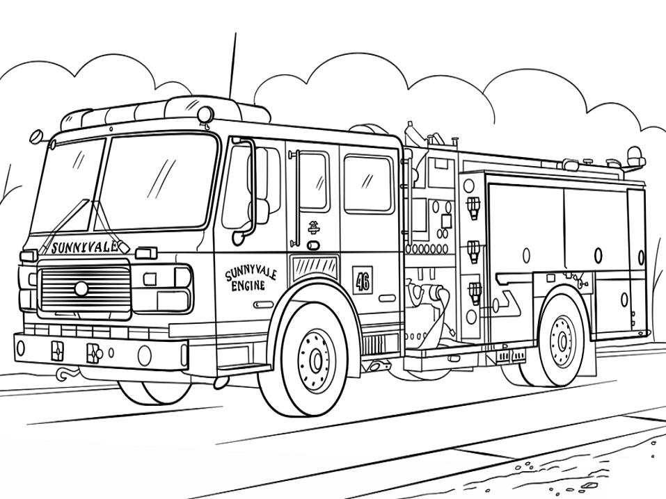 Sunnyvale Fire Truck