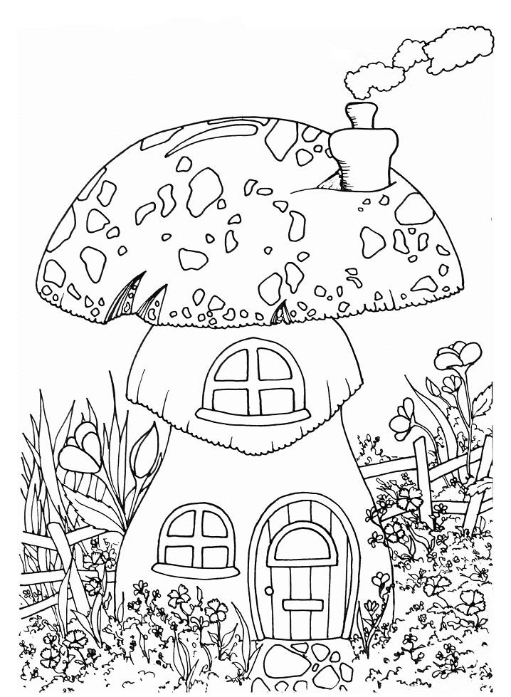 Fairy's Mushroom House